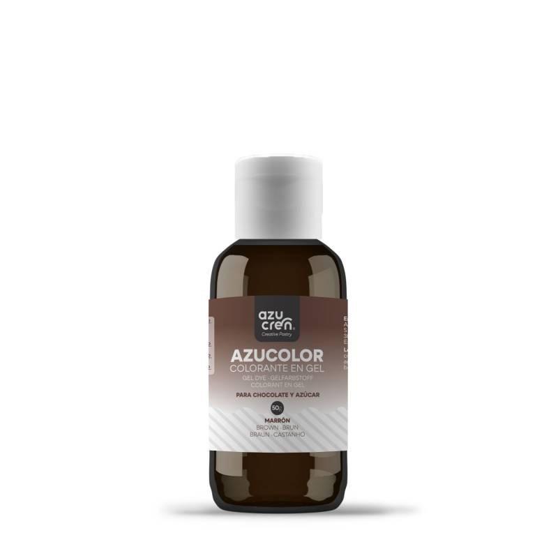 Colorante en gel Marrón 50 g AzuColor Azucren