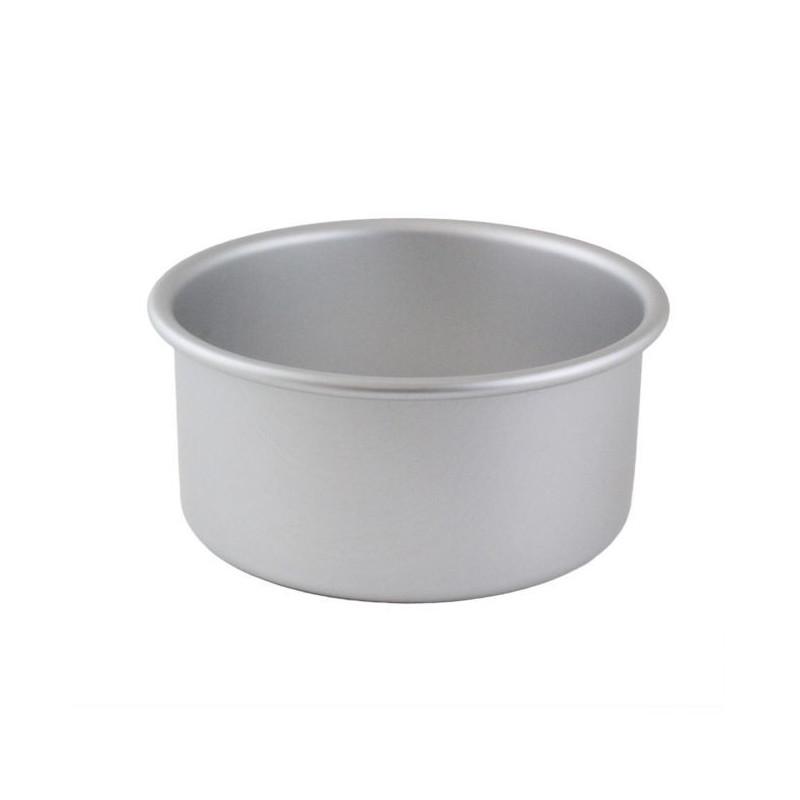 Molde redondo base desmoldable 12 x 7.5 cm PME
