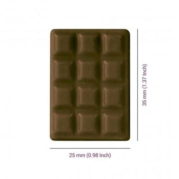 Molde 12 Tabletas mini Chocolate PME