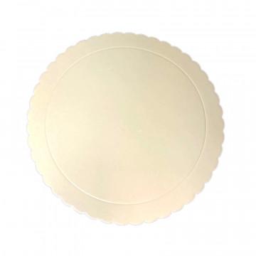 Bandeja redonda 20 cm x 3 mm BEIG Extra Fuerte