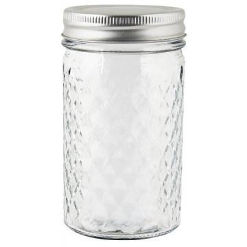 Tarro de cristal Harlequin con tapa 300 ml Ib Laursen