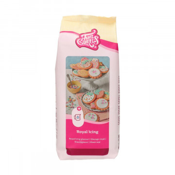 Preparado de Royal Icing 900 g Funcakes