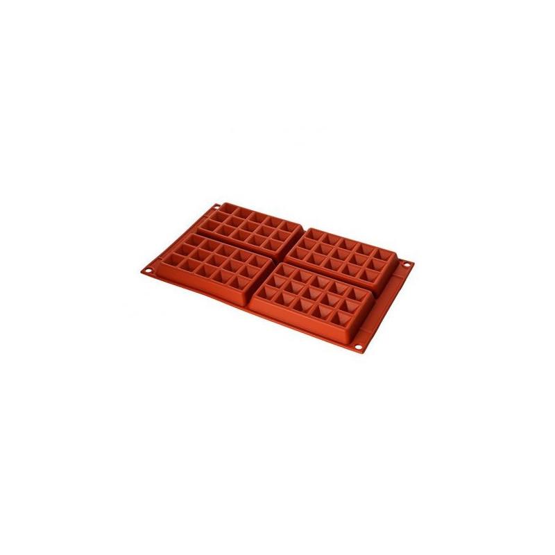 Molde silicona para Gofres SLK