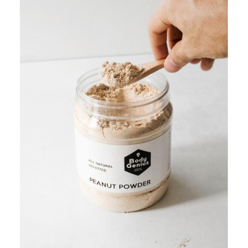 Cacahuete en polvo desgrasado 500 gr Body Genius