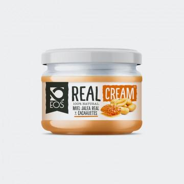 Crema de Cacahuete Miel y Jalea Real EOS