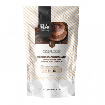 Preparado de Bizcocho de Chocolate 1kg Azucren