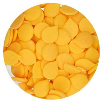 Candy Melt Cobertura de Chocolate Amarillo 250 g Funcakes