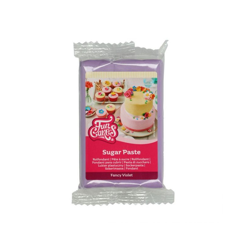 Fondant Violeta 250 g Funcakes