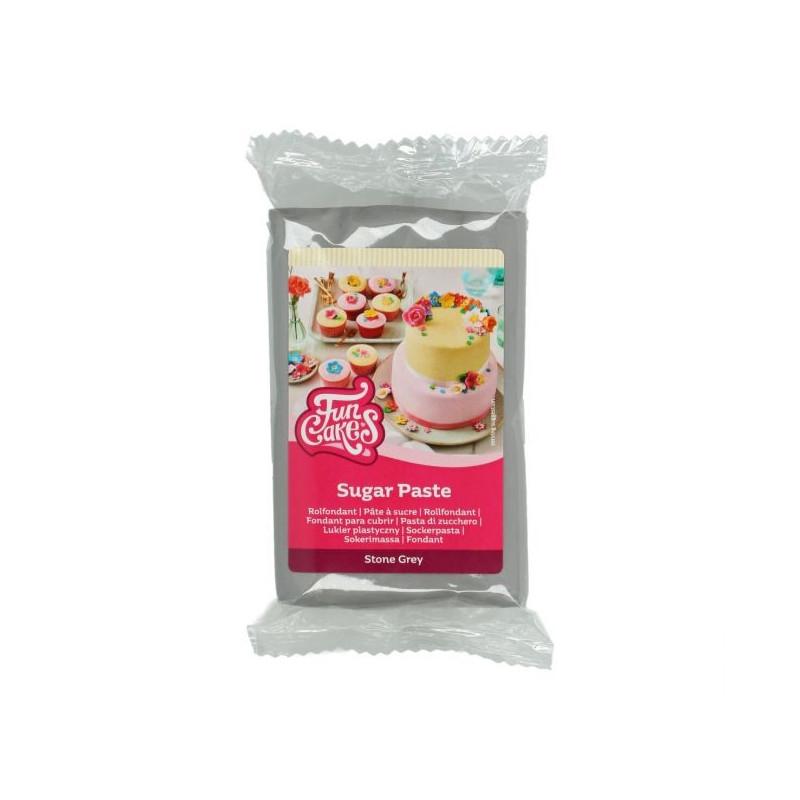 Fondant Gris 250 g Funcakes