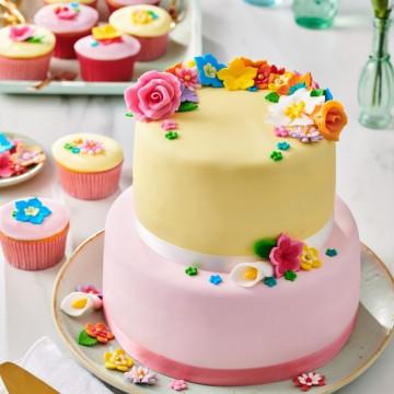 Fondant Lila Pastel 250 g Funcakes
