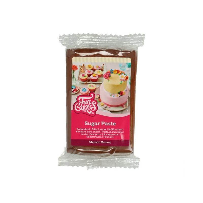 Fondant Marrón 250 g Funcakes