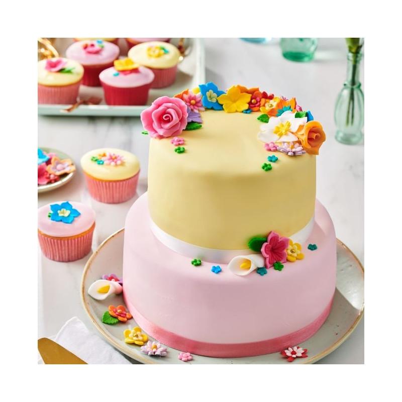 Fondant Rosa 250 g Funcakes