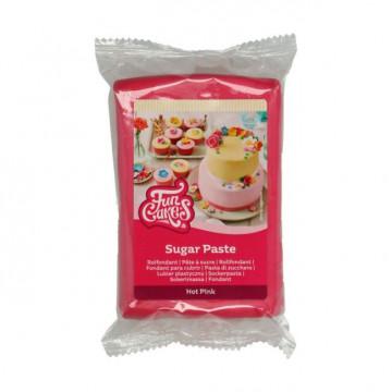 Fondant Rosa Intenso 250 g Funcakes