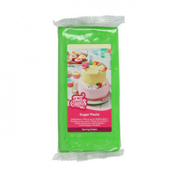 Fondant Verde Primavera 1kg Funcakes