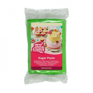 Fondant Verde Primavera 250 g Funcakes