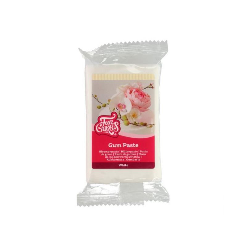 Pasta de Goma Blanca 250 g Funcakes