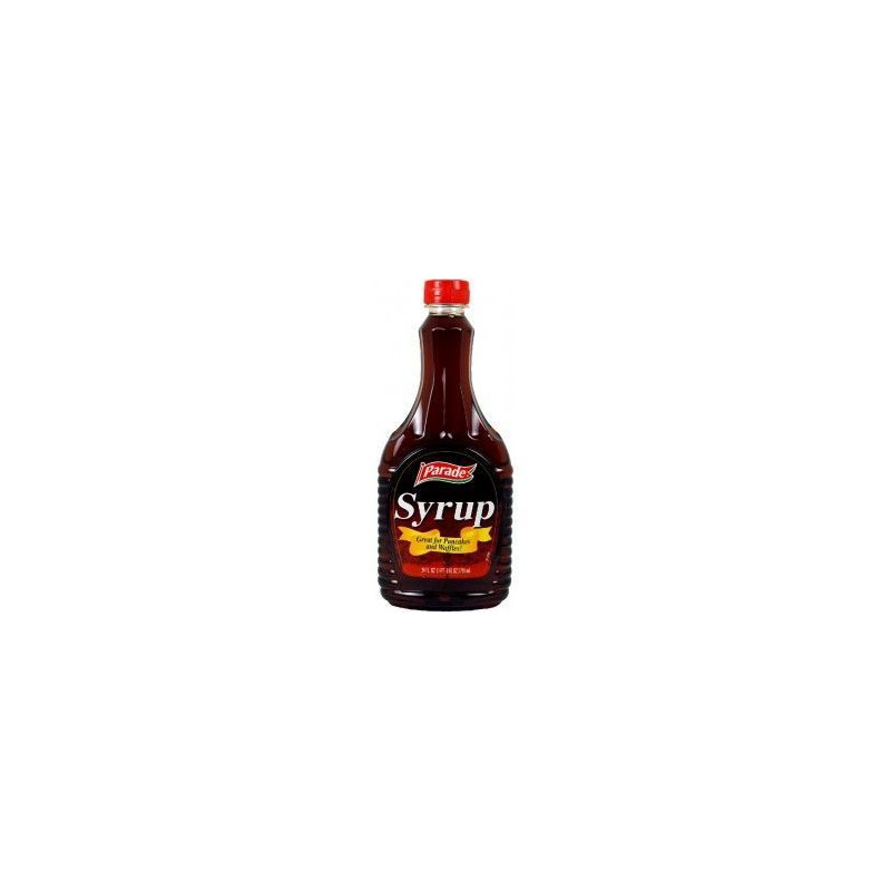 Sirope sabor maple para tortitas Parade 709 ml