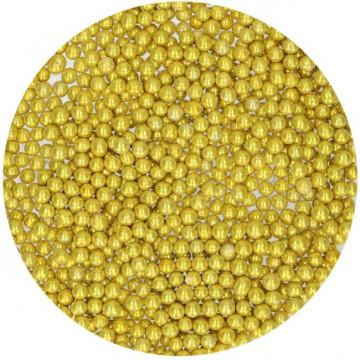 Sprinkles Perlas Oro 80 g Funcakes