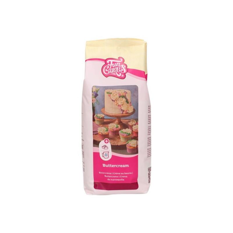 Preparado de Crema de Mantequilla 1kg Funcakes