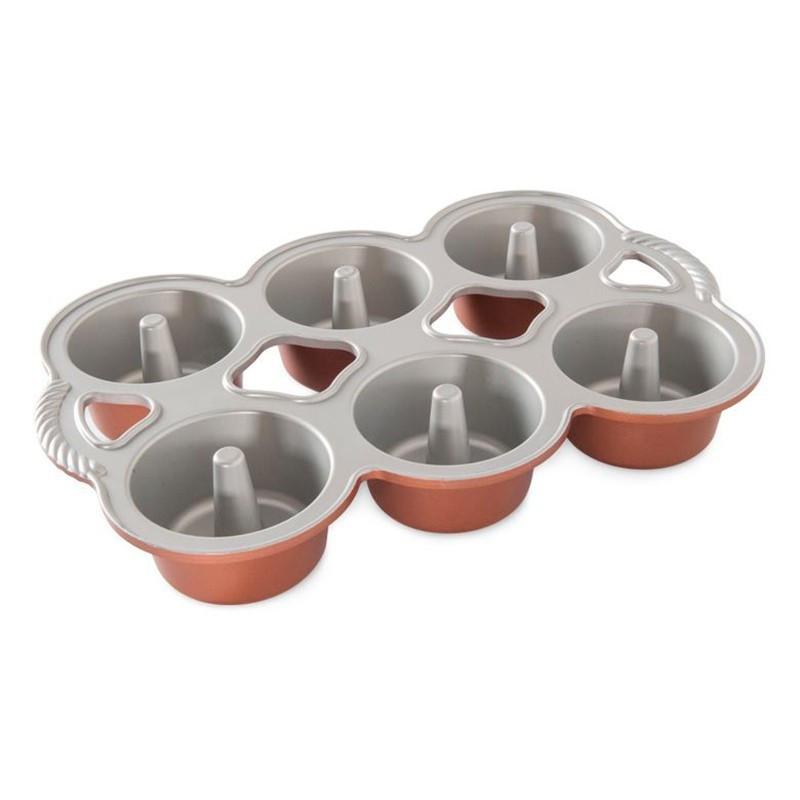Molde 6 cavidades MINI ANGELFOOD Cakelets Nordic Ware