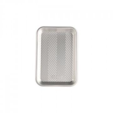 Bandeja rectangular 23 x 15 cm Estrías Naturals Nordic Ware