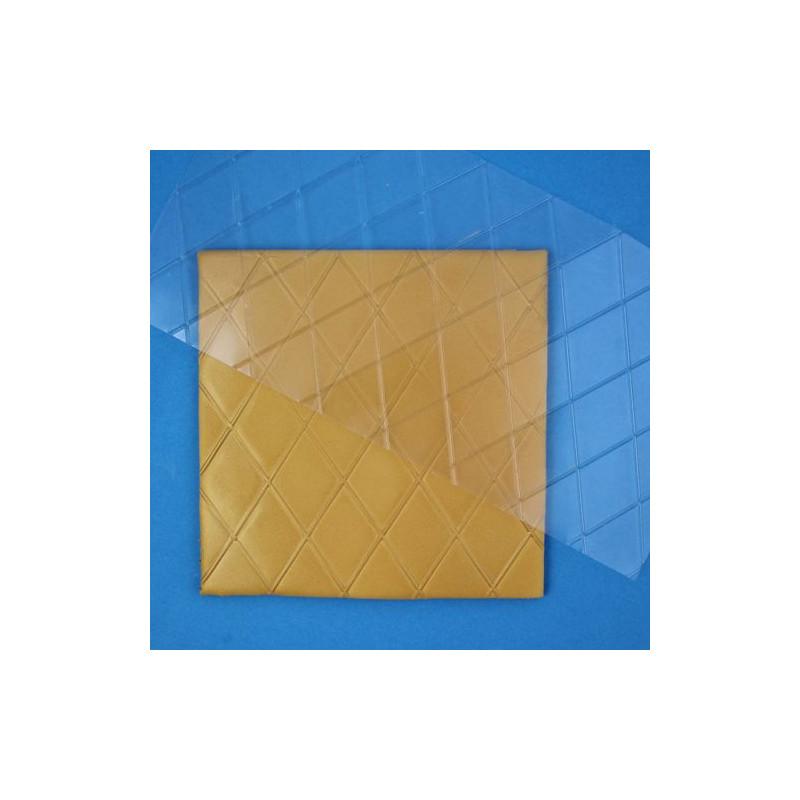 Plantilla texturizadora motivos diamantes grandes Pme