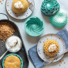 Pack 2 Moldes Bundt Cake Para Microondas Nordic Ware