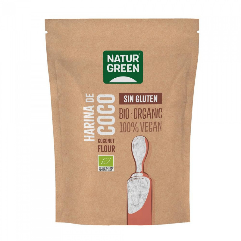 Harina de Coco Bio 500 g NaturGreen