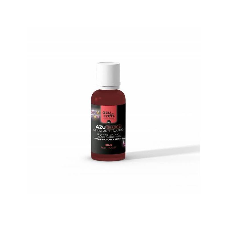 Colorante en gel FLOUR rojo 50 g Azucren
