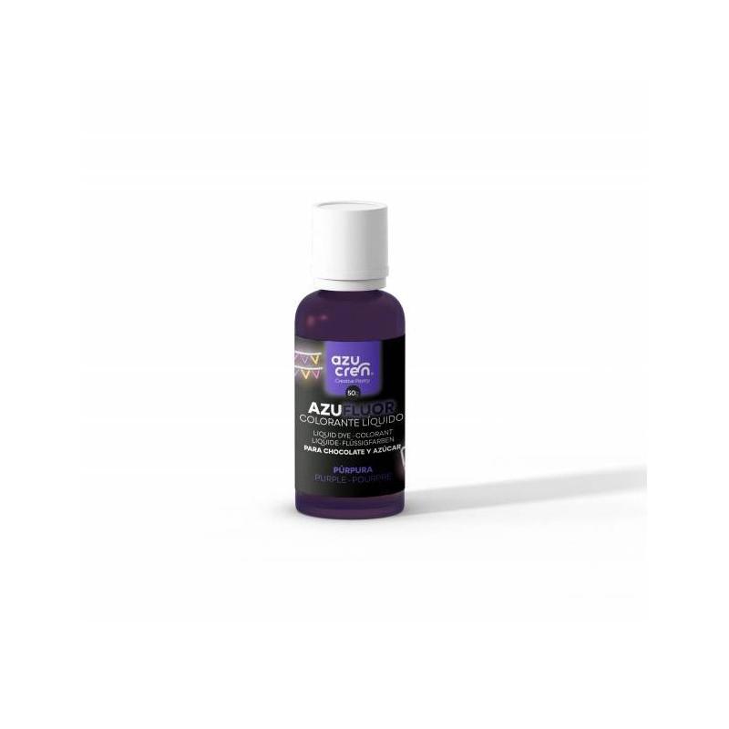 Colorante en gel FLOUR PURPURA 50 g Azucren