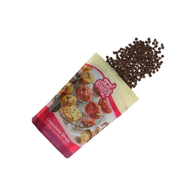 Chips de Chocolate negro 350 g Funcakes