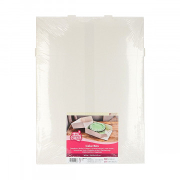 Pack de 2 Cajas para tartas de 32 cm Funcakes