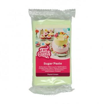 Fondant Verde Pastel 250 g Funcakes