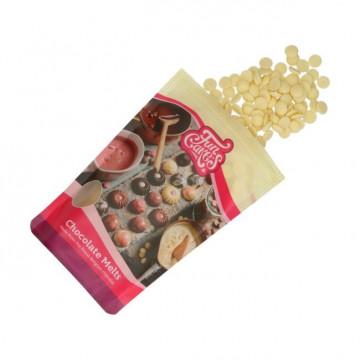 Chocolate blanco en grageas 350 g Funcakes