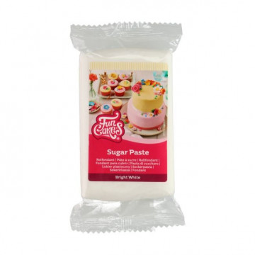 Fondant Blanco 250 g Funcakes