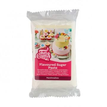 Fondant blanco sabor Marshmallow 250 g Funcakes