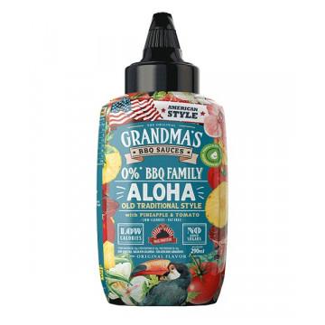 Salsa Barbacoa GRANDMA´S ALOHA  Piña y Tomate MaxProtein