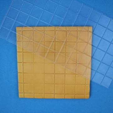 Plantilla texturizadora motivos cuadrados pequeños Pme