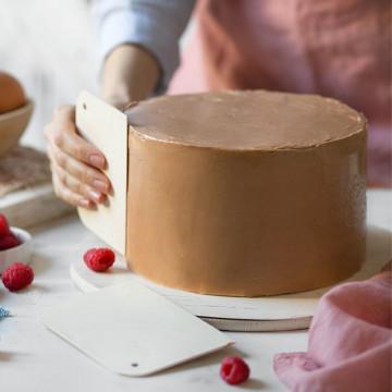 Pack 2 Alisadores de tarta Decora Italia