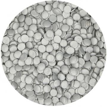 Sprinkles Confeti Plata 60 g Funcakes