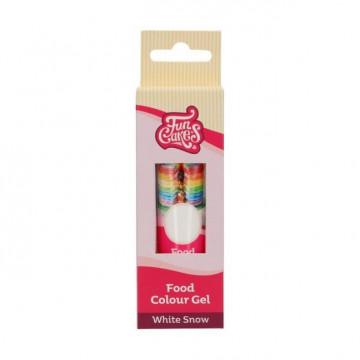 Colorante en gel Blanco White 30 gr Funcakes