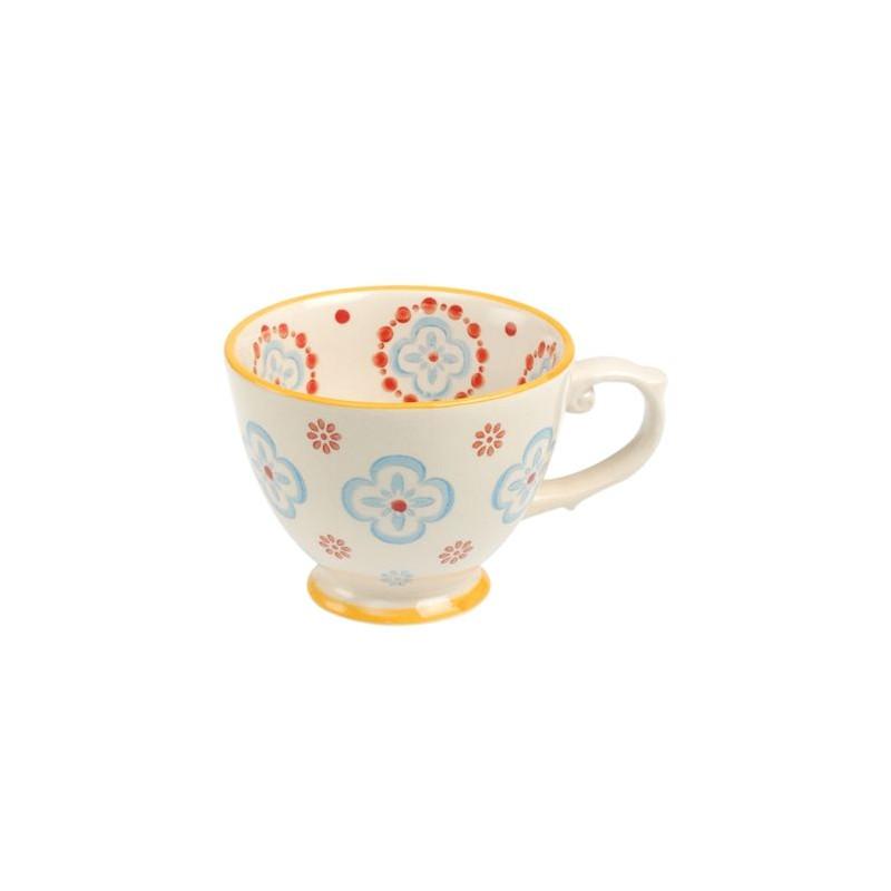 Tetera de cerámica Flores Azules [CLONE] [CLONE] [CLONE]