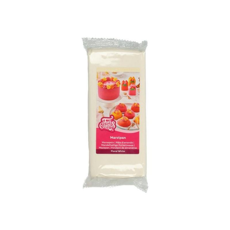 Mazapan Floral Blanco 1kg Funcakes
