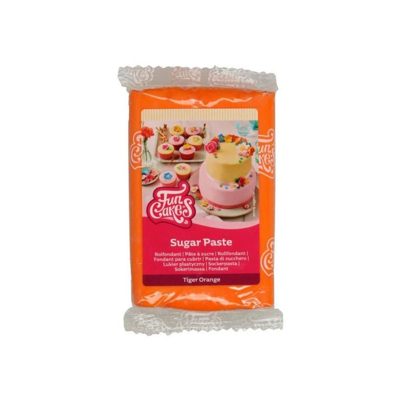 Fondant Naranja 250 g Funcakes