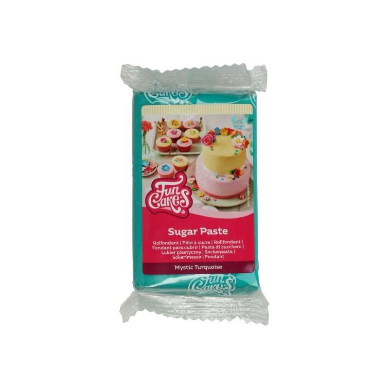 Fondant Turquesa 250 g Funcakes