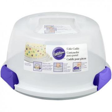 Caja transportadora Redonda para tarta y cupcakes reversible wilton