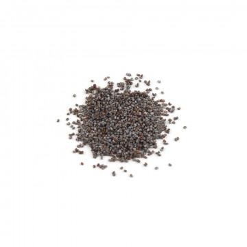 Semillas azules de amapola
