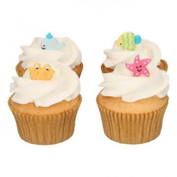 Decoraciones comestibles Animales del Mar Funcakes