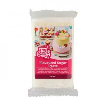 Fondant Blanco Sabor Limón 250 g Funcakes