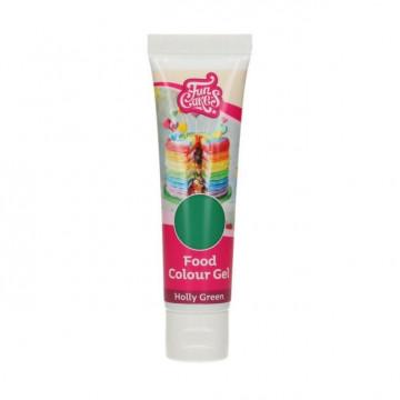 Colorante en gel Verde Acebo Holly Green 30 gr Funcakes